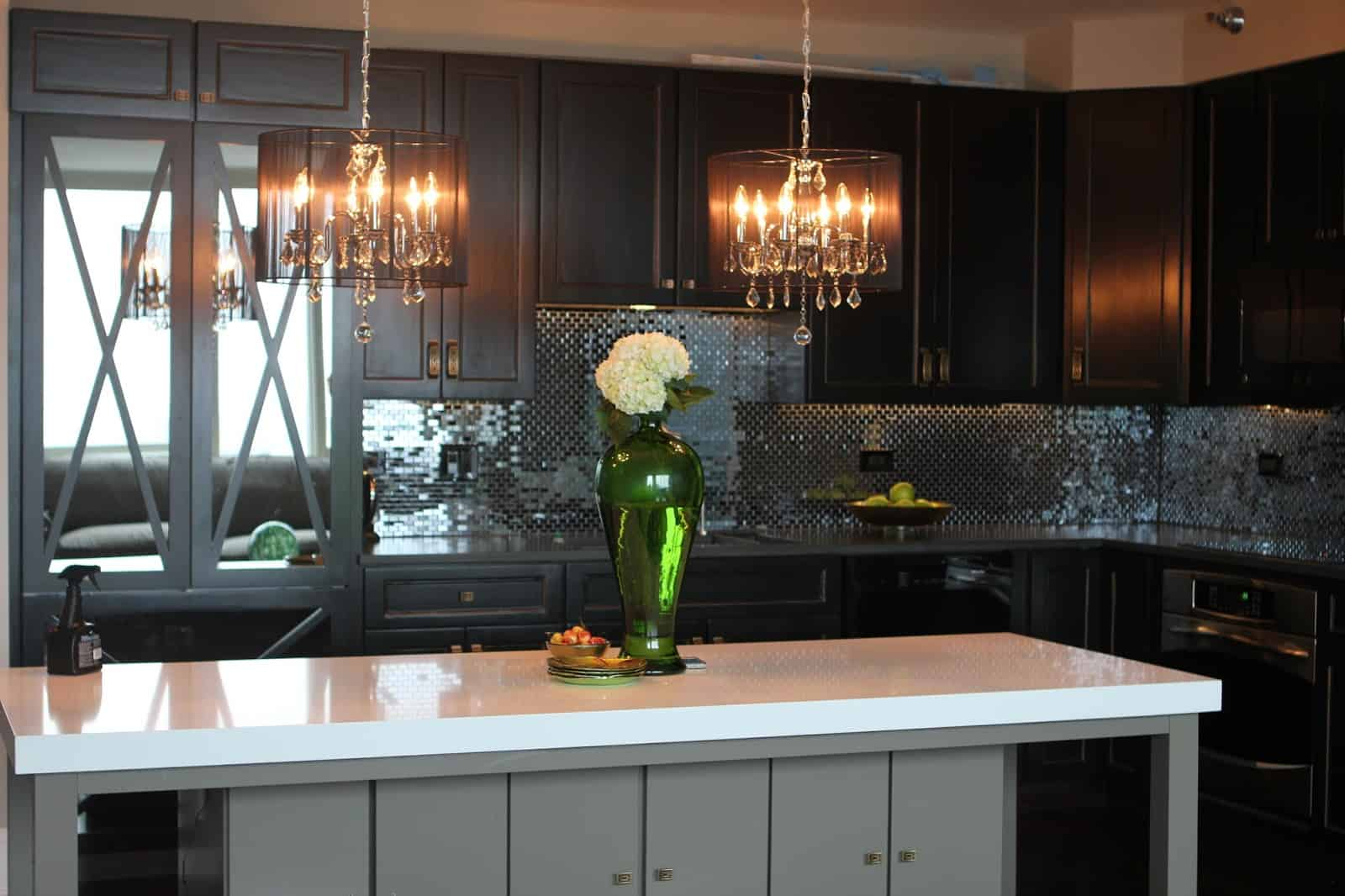 glam chandelier 3 10 Light Fixtures Your Kitchen Needs Today!