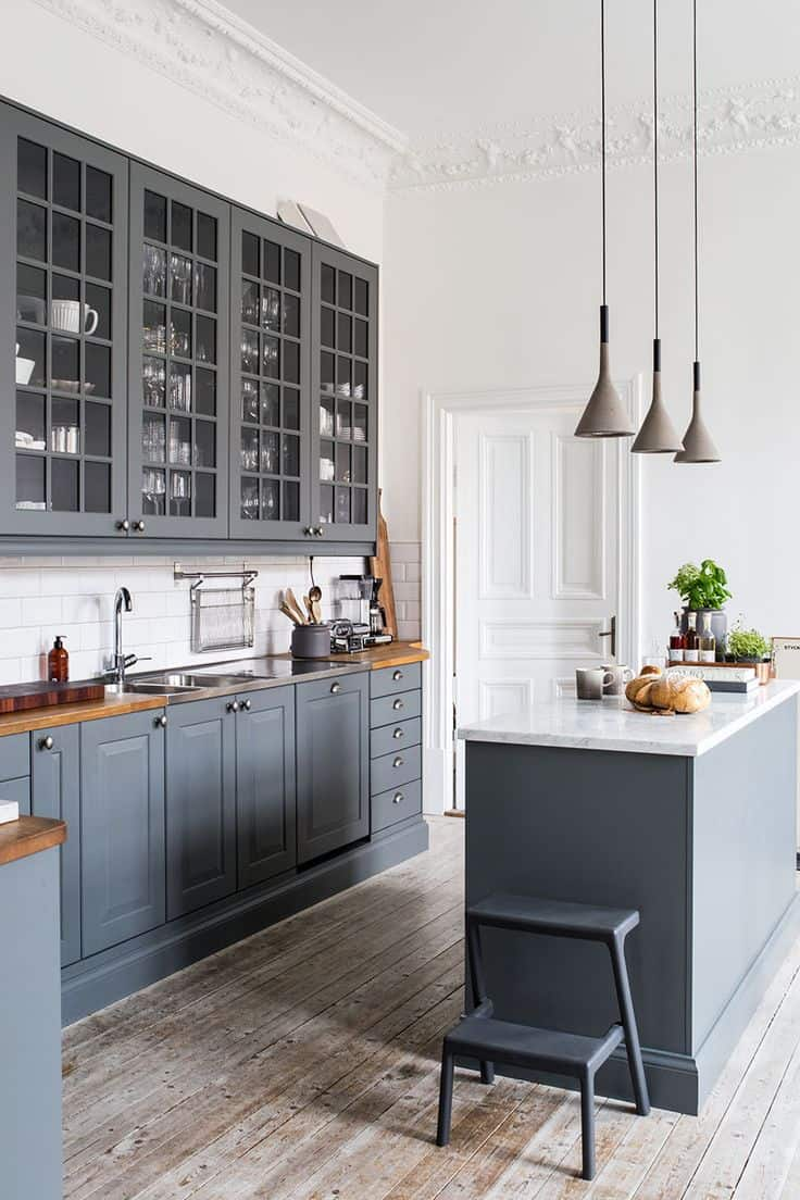 white and gray kitchen cabinets 40 and welcoming grey kitchens for your home 1737