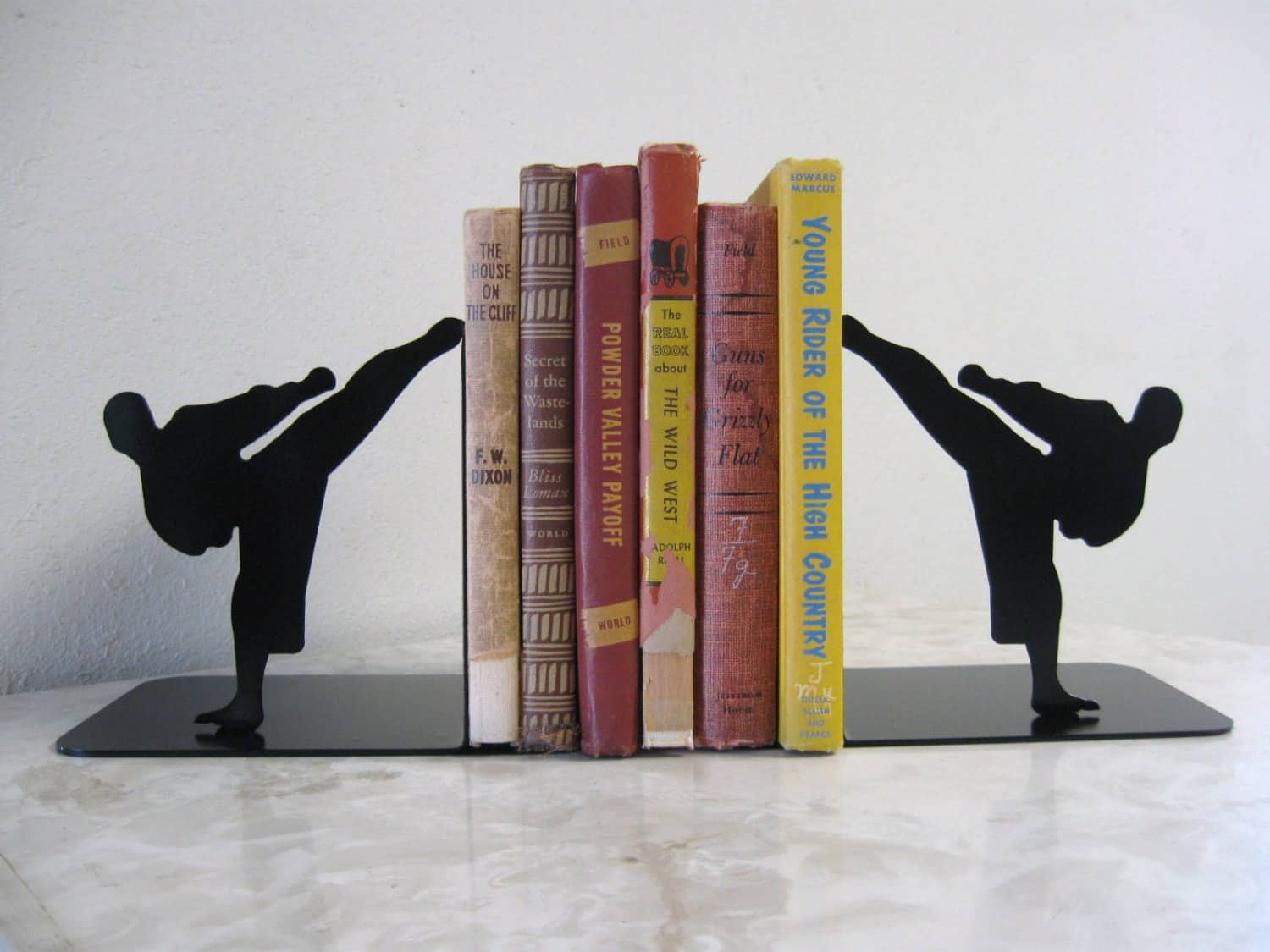 karate bookends
