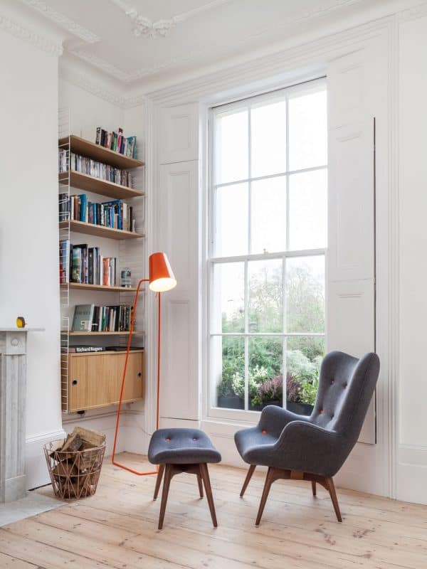 View In Gallery Mid Century Charcoal Great Reading Chair These 15 Reading  Chairs Will Make Your Corners That Much