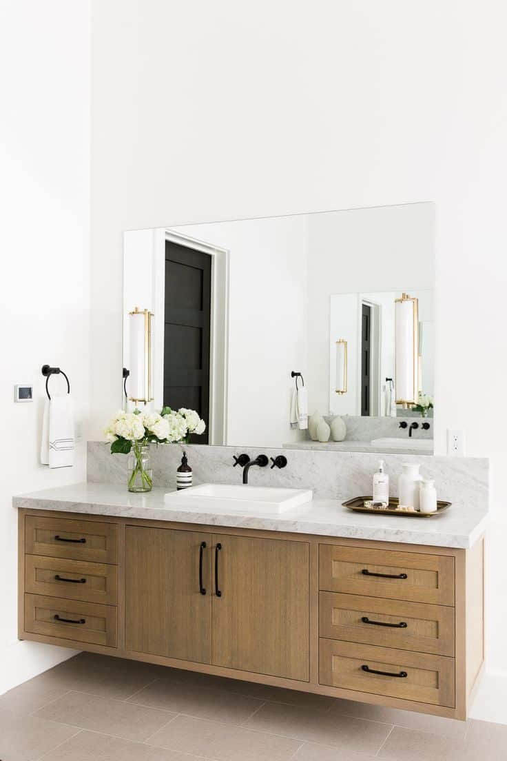hung white single wall vanity cabinet with sink bathroom medicine modern fresca vista