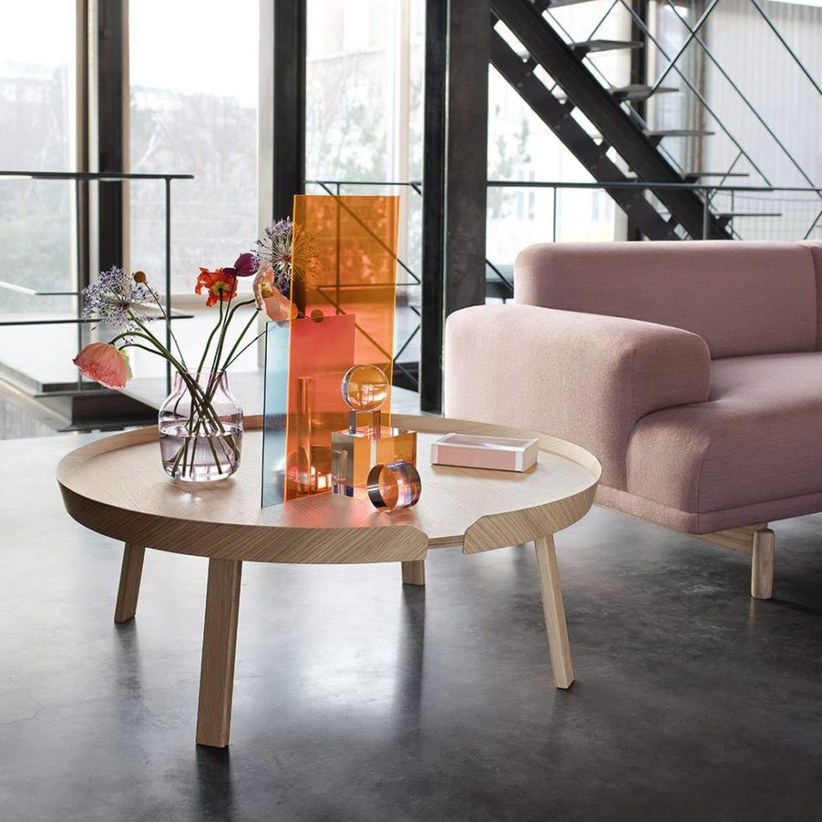 muuto around coffee table extra large 900x900 15 Large Coffee Tables For Your XL Living Room