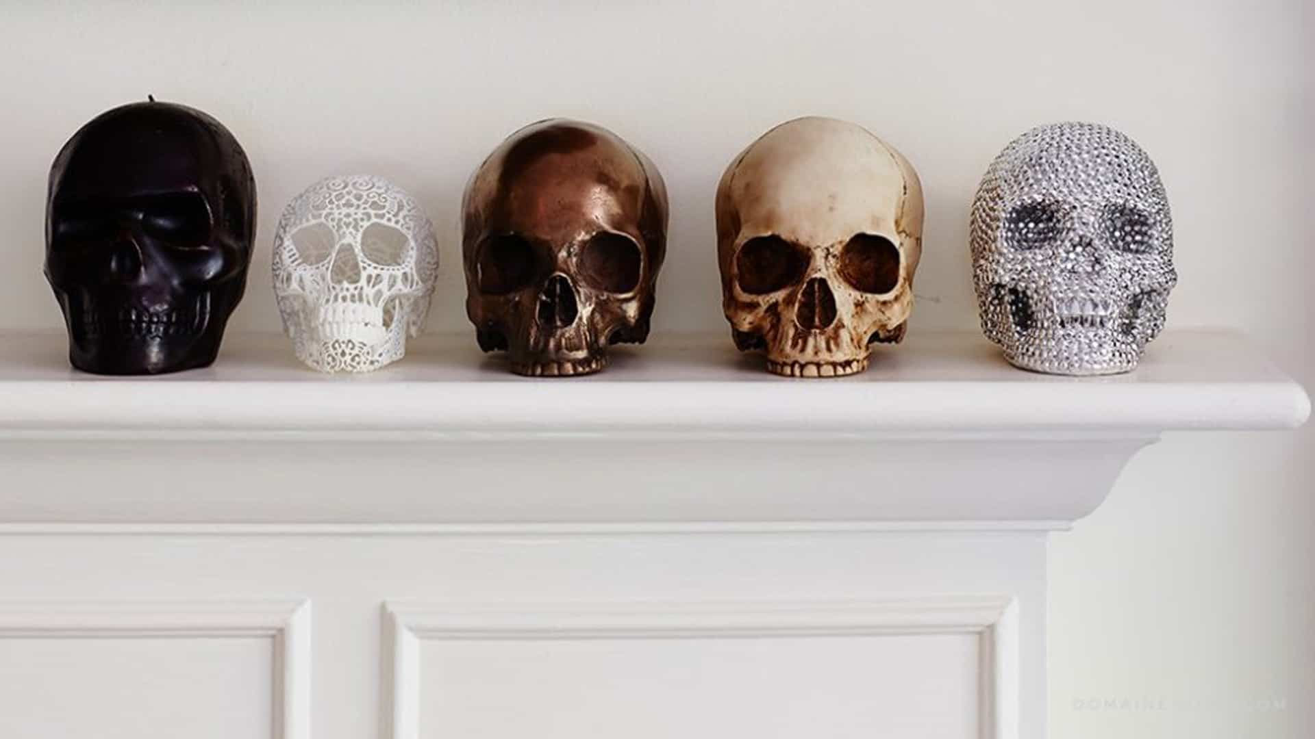 skulls Spectacular Halloween DéCor You Need This Fall