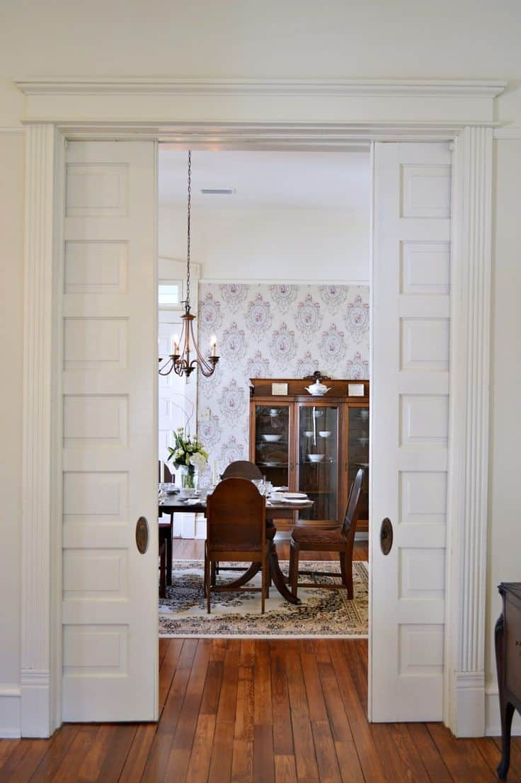 & 15 Magical Pocket Doors For Your Small Space