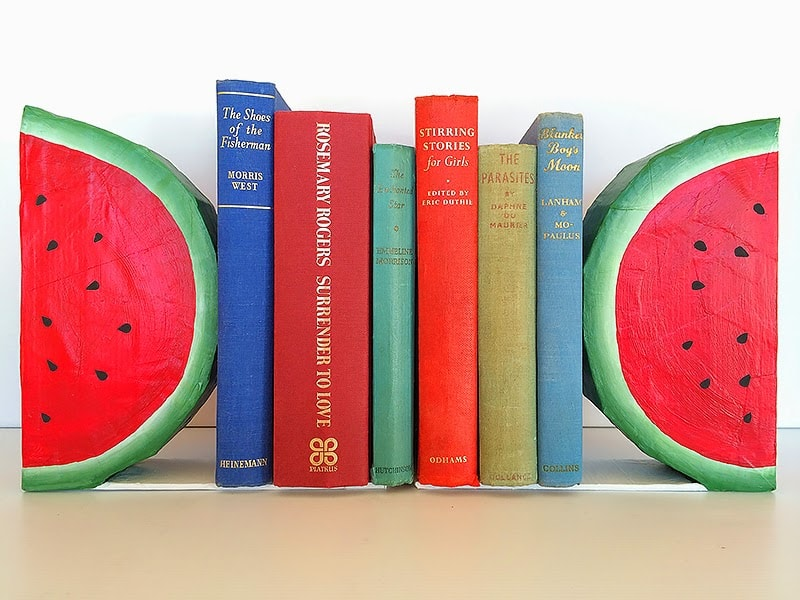 watermelon bookends