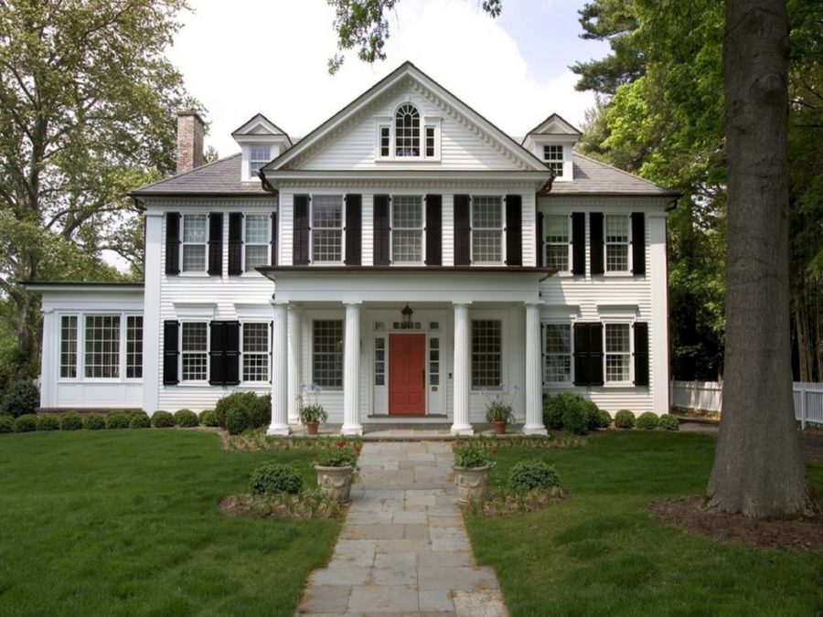 These 15 colonial style homes will have you feeling warm - Colonial house exterior renovation ideas ...