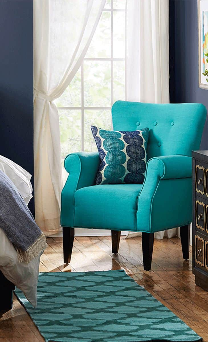 Accent chairs are meant to be bold.