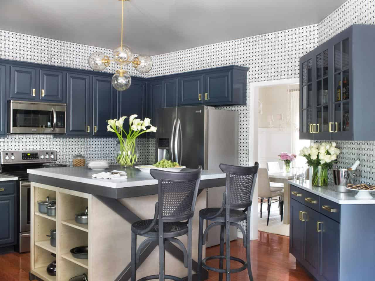 blue cabinets How to Properly Decorate With Shades of Blue