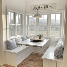 A breakfast nook can be exactly what your home needs.