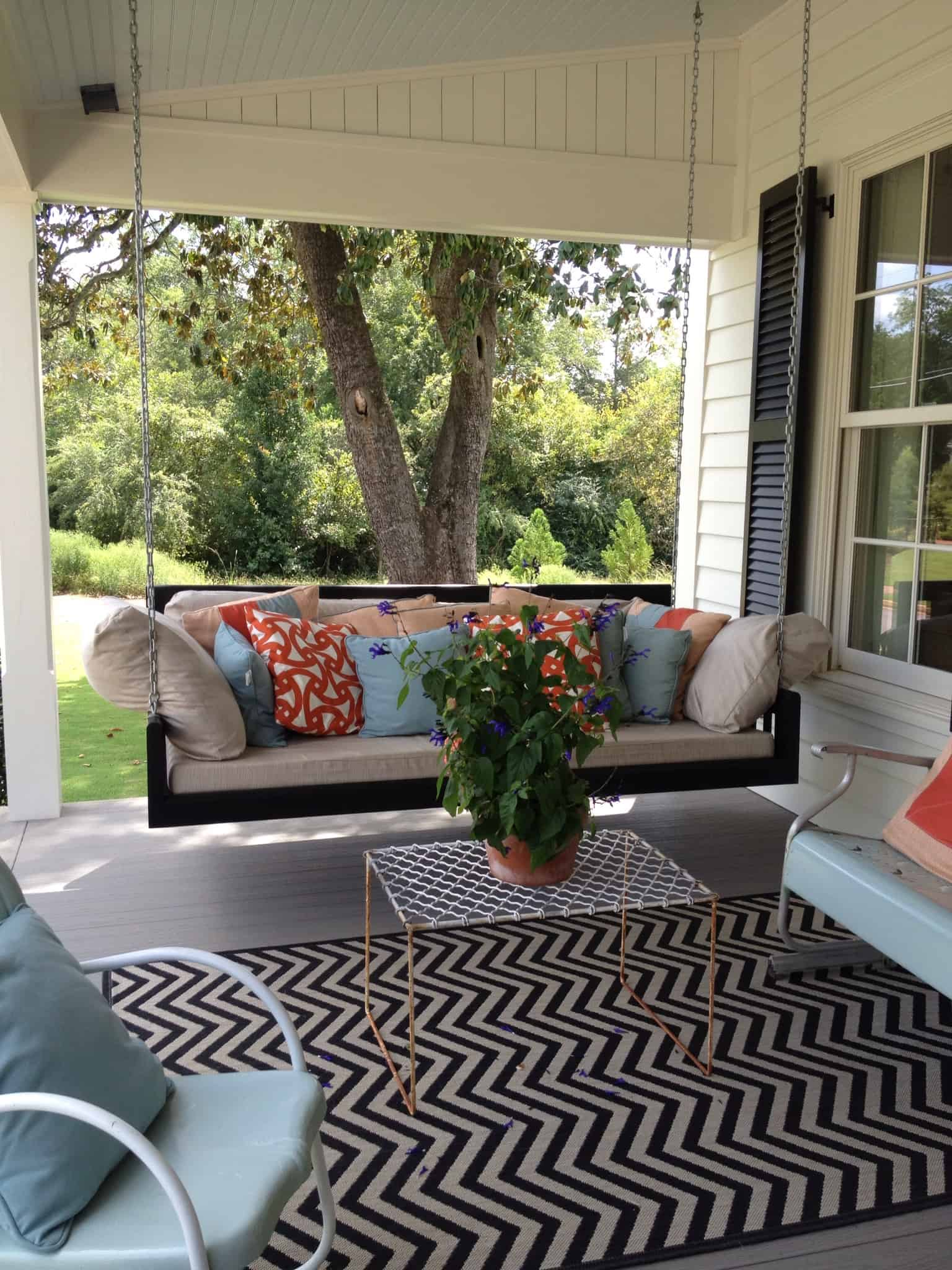 cozy seating Home Fall Outdoor Trends That We Are Loving