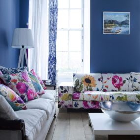 When done properly floral print can be the highlight of any room.