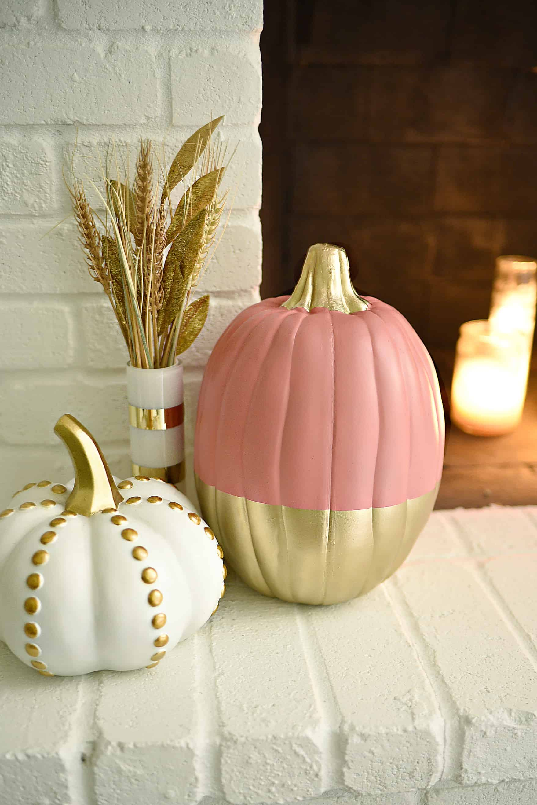 When it comes to multicolor pumpkins choose a color you normally