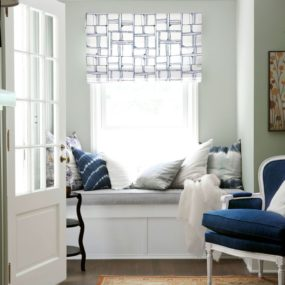 If you have windows in your awkward corner you can also create a reading nook by adding a seating bench.