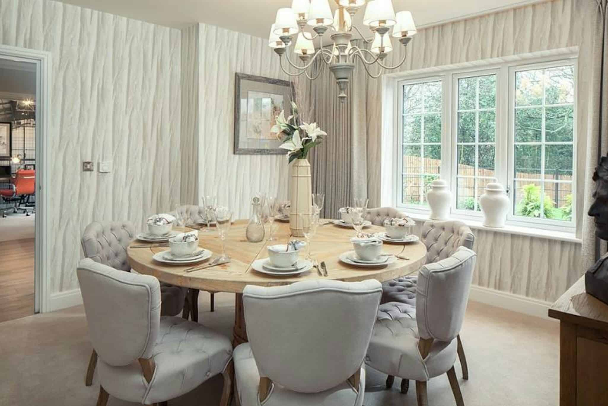 View In Gallery Sopisticated Dining Table Modern Room Tables That Are On Trend