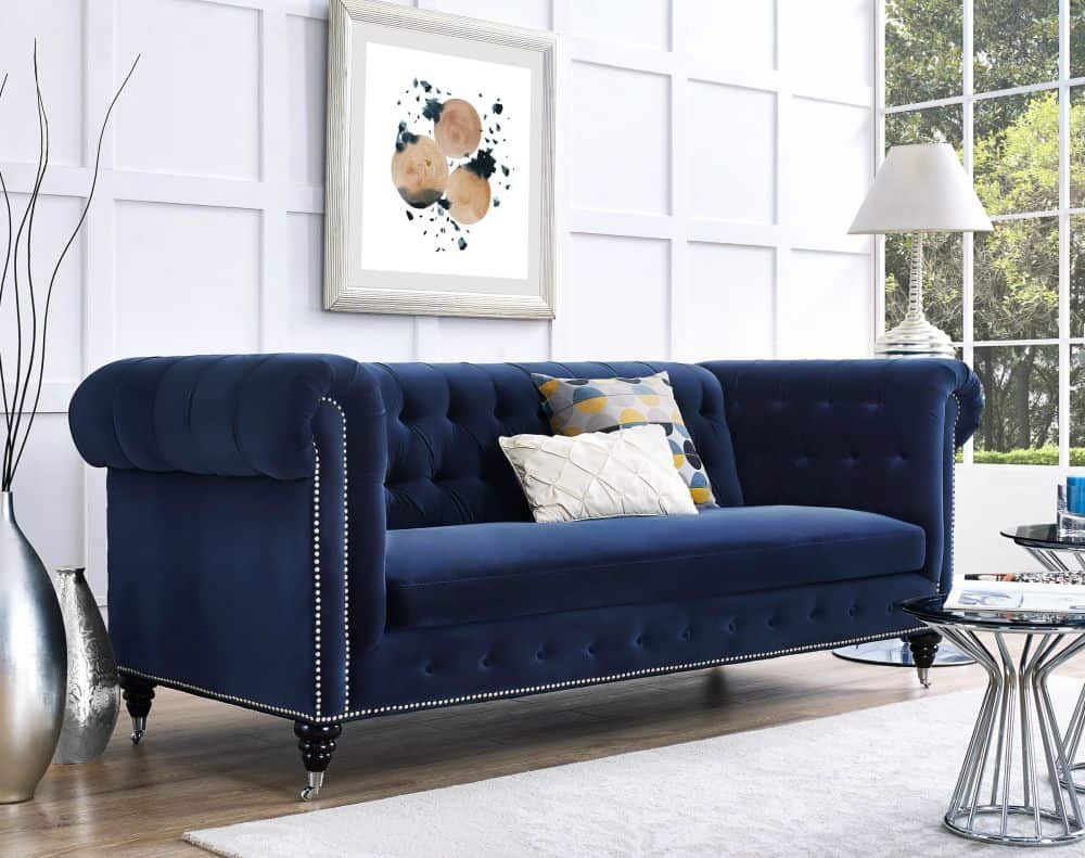 velvet sofa How to Incorporate the Latest Trend Velvet Into Your Home
