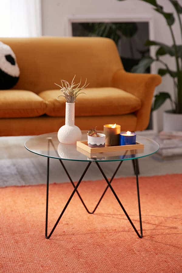 anderson glass coffee table 15 Glass Coffee Tables To Display In Your Formal Living Room