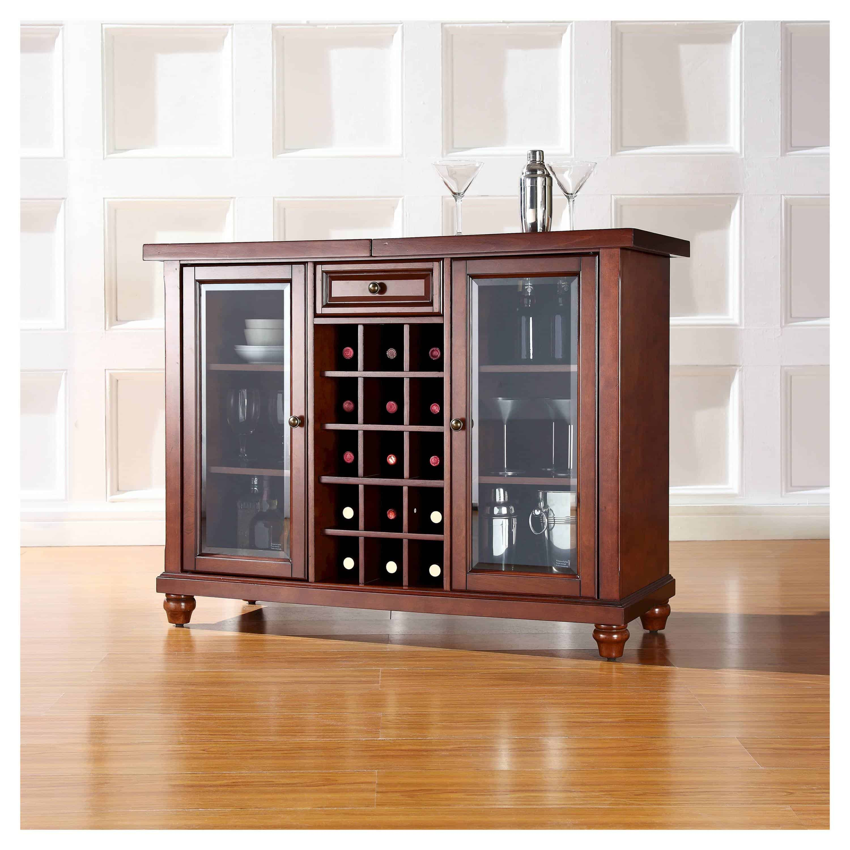 cambridge sliding top bar cabinet