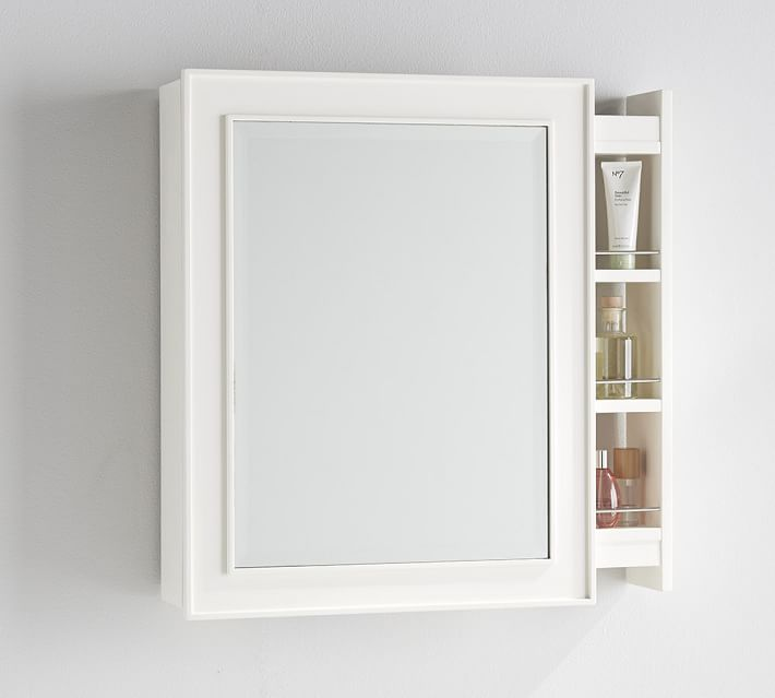 classic side pull out medicine cabinet These 15 Bathroom Mirrors Will Transform Your Morning Routine