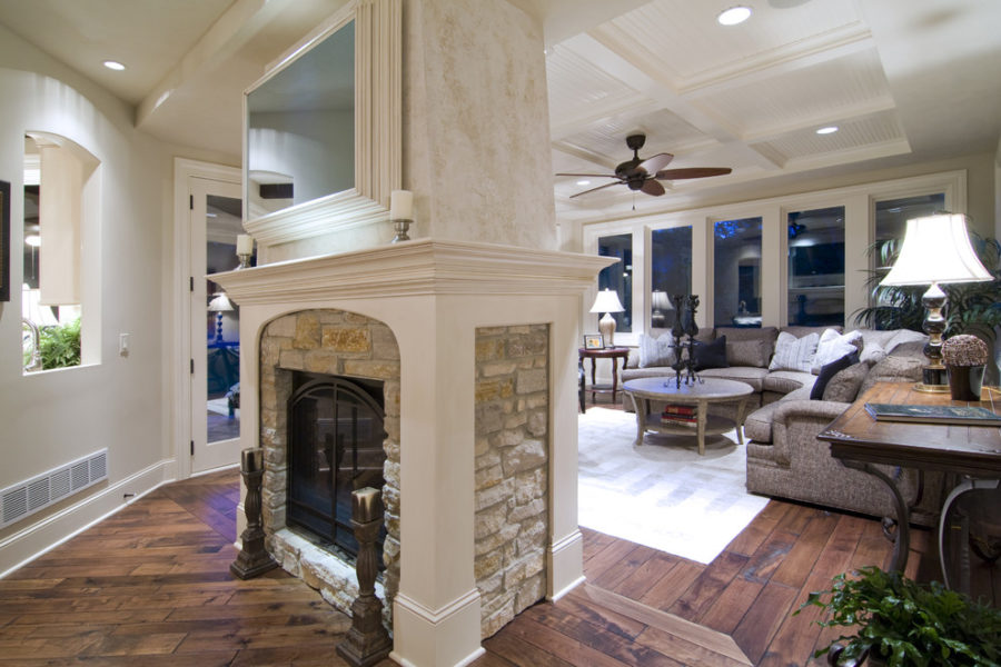 These 15 double sided fireplaces wishing for the coldest for House plans with double sided fireplace