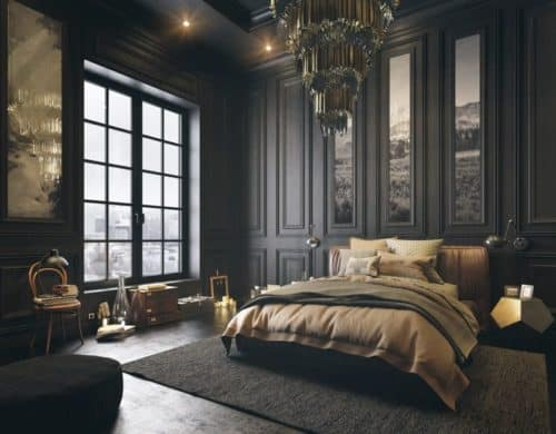 These 15 Black Bedrooms Will Add Just The Right Amount of Mystery To Your Home