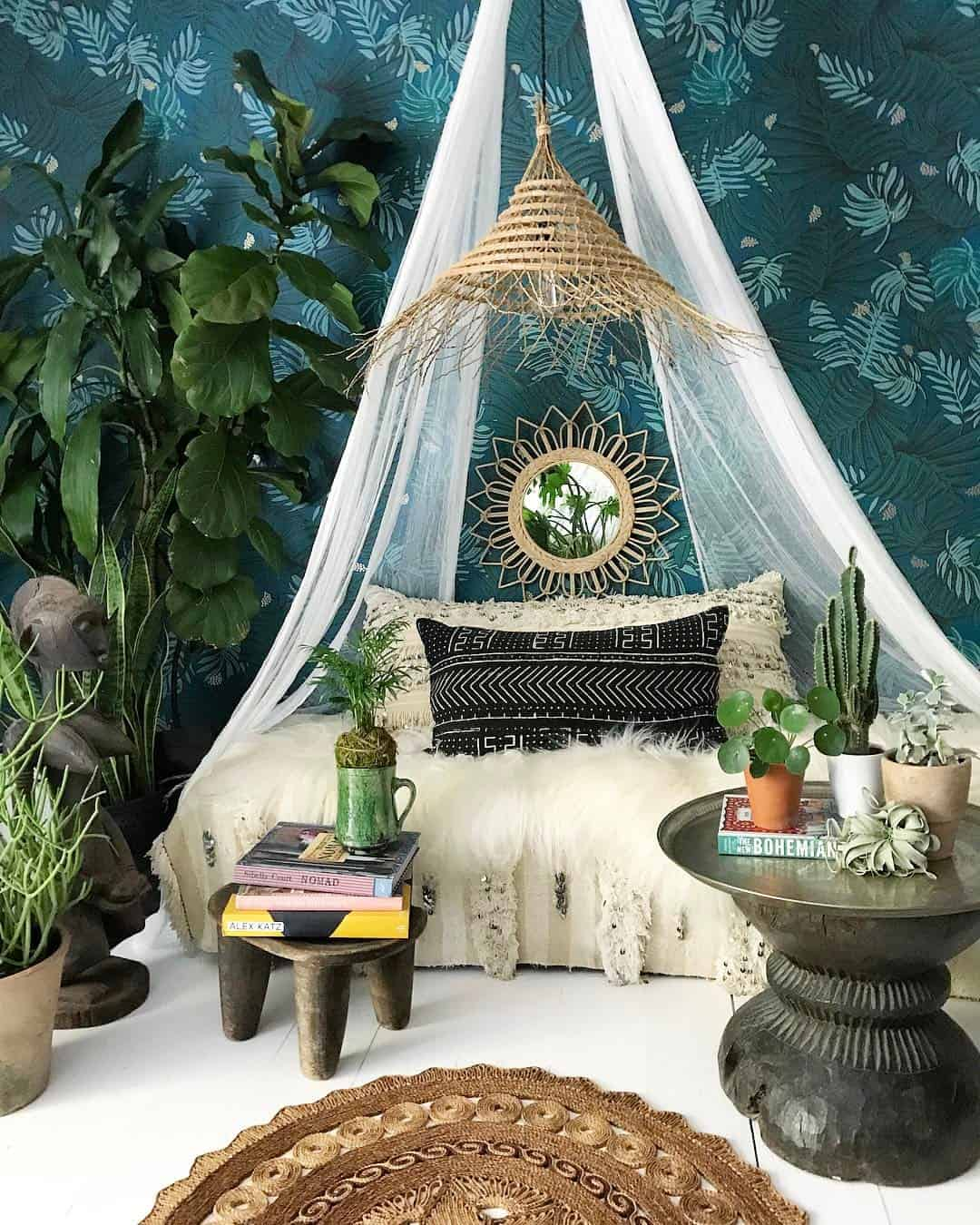 10 ways to give your bedroom a bohemian twist for Decoration zone