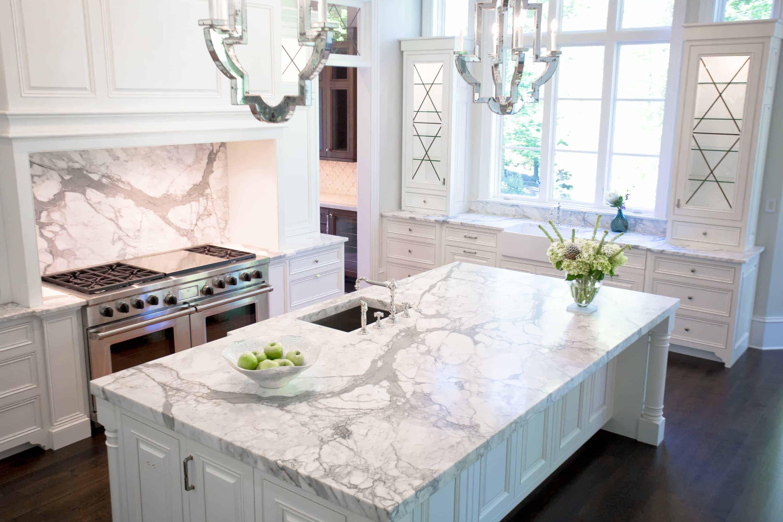 view in gallery marble ktichen 2 luxury kitchen designs that feature waterworks - Luxury Kitchen Pictures