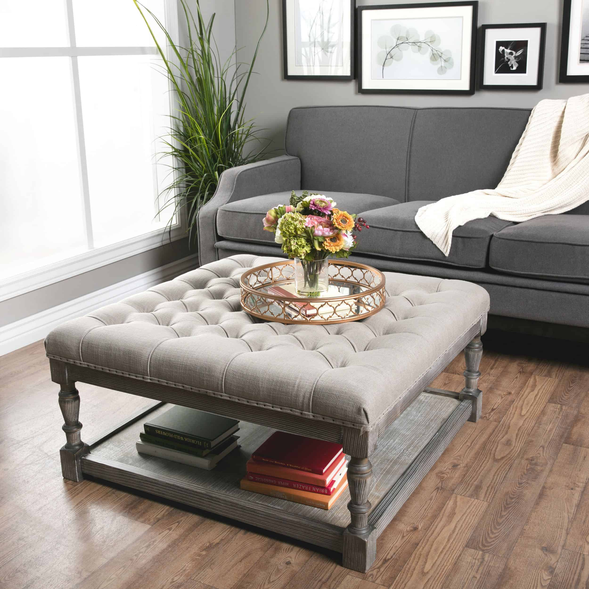 Ottoman Coffee Table With Sliding Wood Top: 12 Best Ways To Decorate A Coffee Table