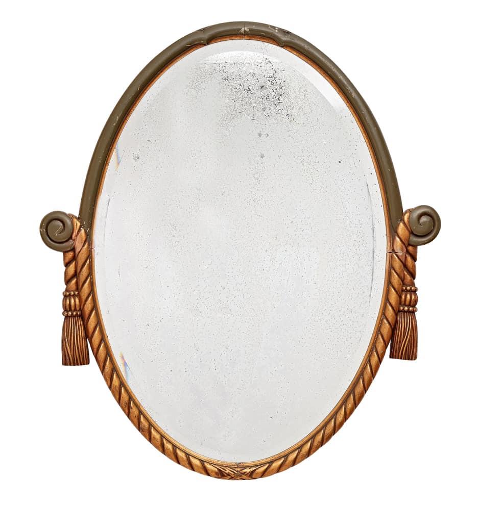 revival style bathroom mirror