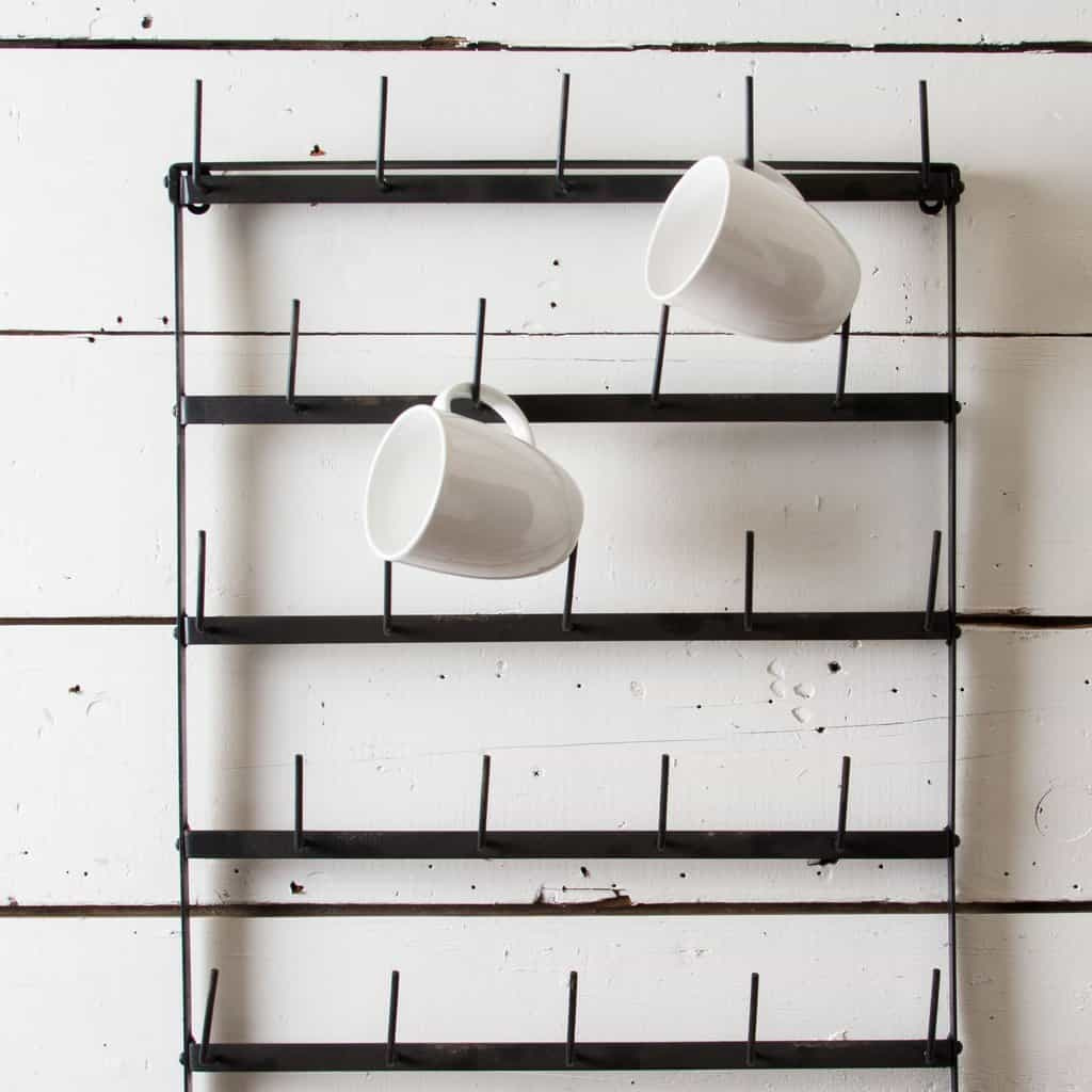 simple coffee cup rack Mug Racks Every Coffee and Tea Lover Should See
