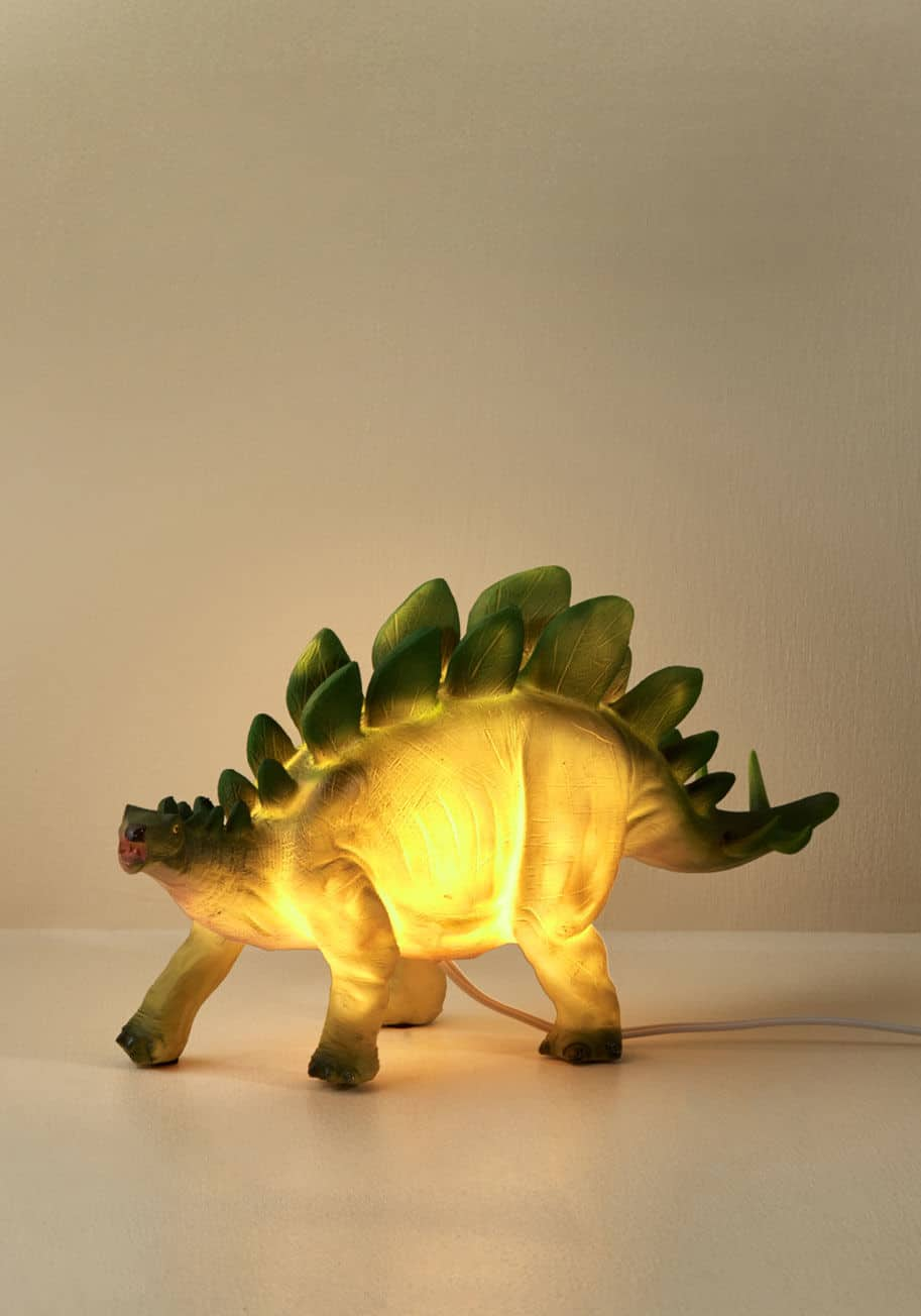 stegosaurus table lamp