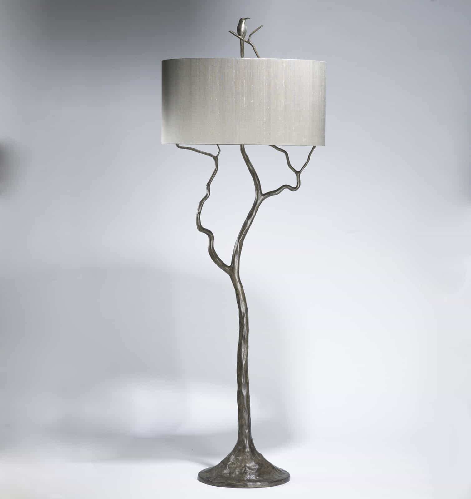 unique branch floor lamp