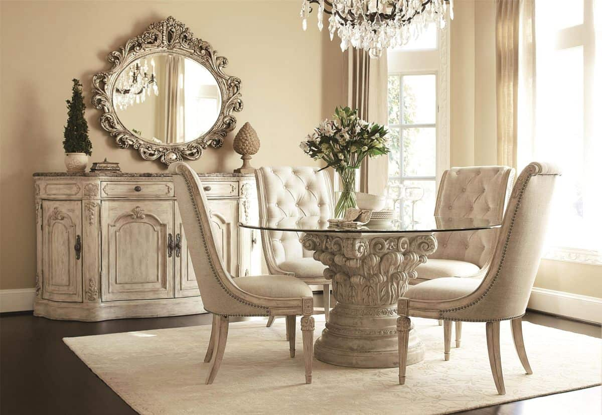 Vintage-inspired-dining-room
