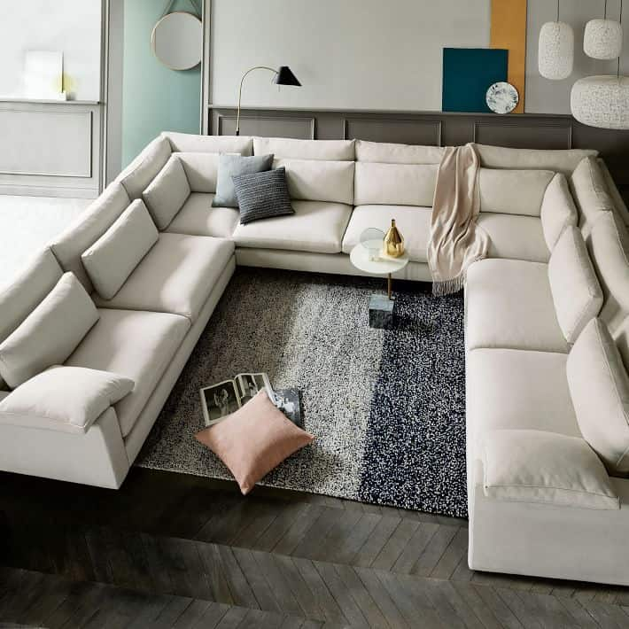 build your own harmony sectional pieces 15 Large Sectional Sofas That Will Fit Perfectly Into Your Family Home