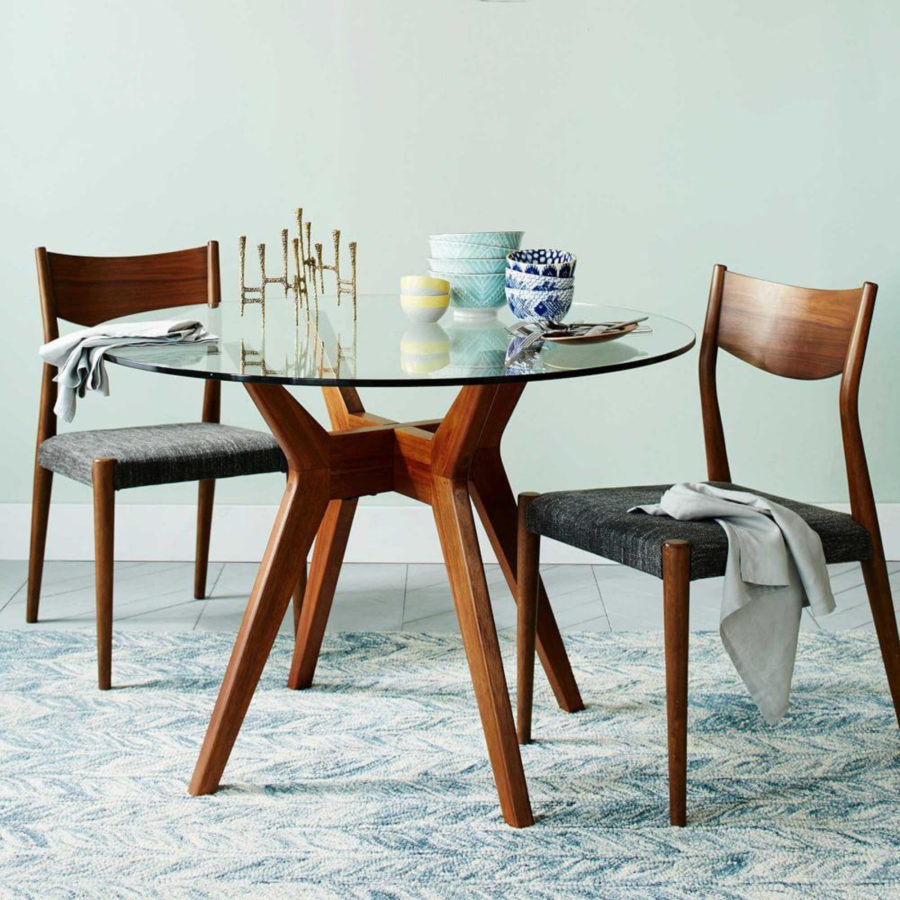 15 round glass dining room tables that add sophistication to mealtime dzzzfo