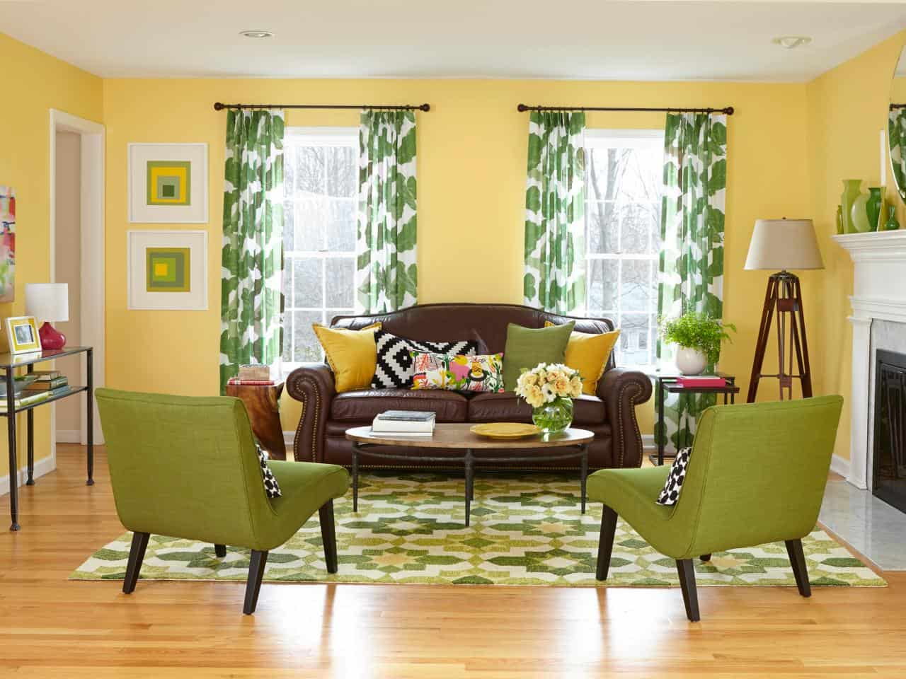 View In Gallery Pea Green 10 Shades Of That Will Make You Want To Incorporate Hues Into