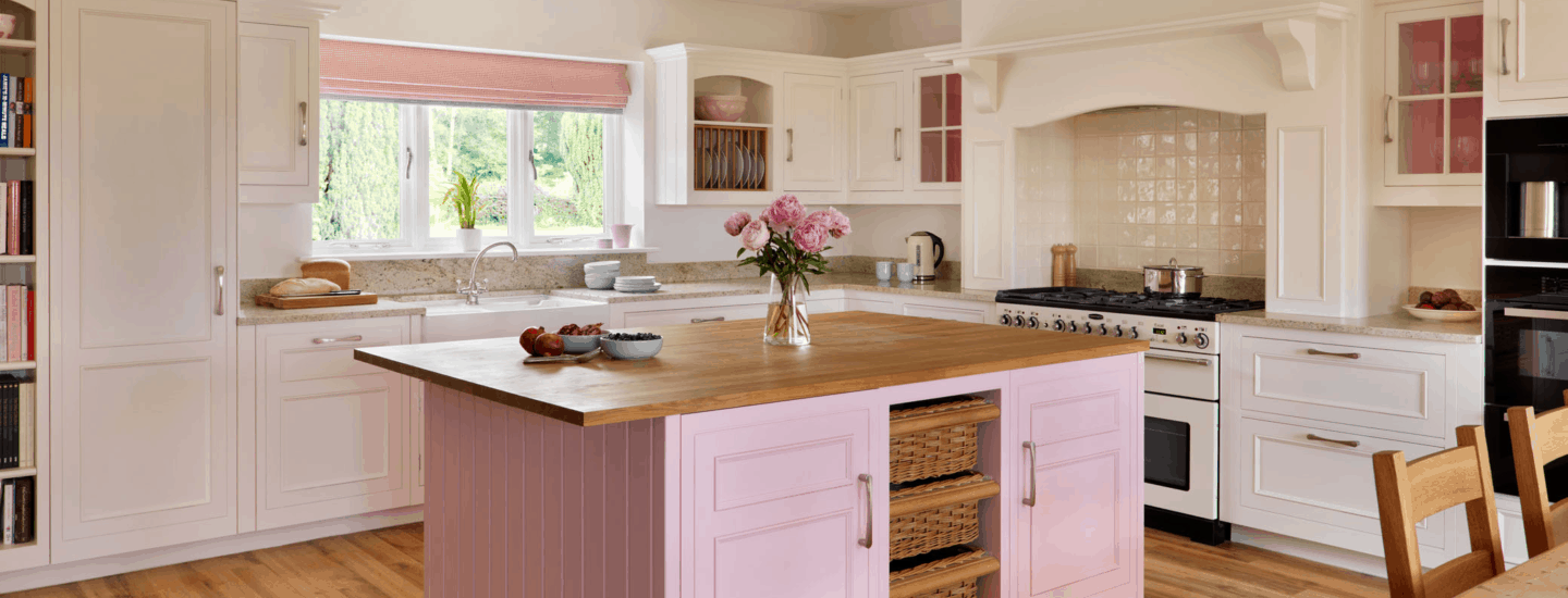 Even though pink may seem like the last color you may incorporate into your kitchen.