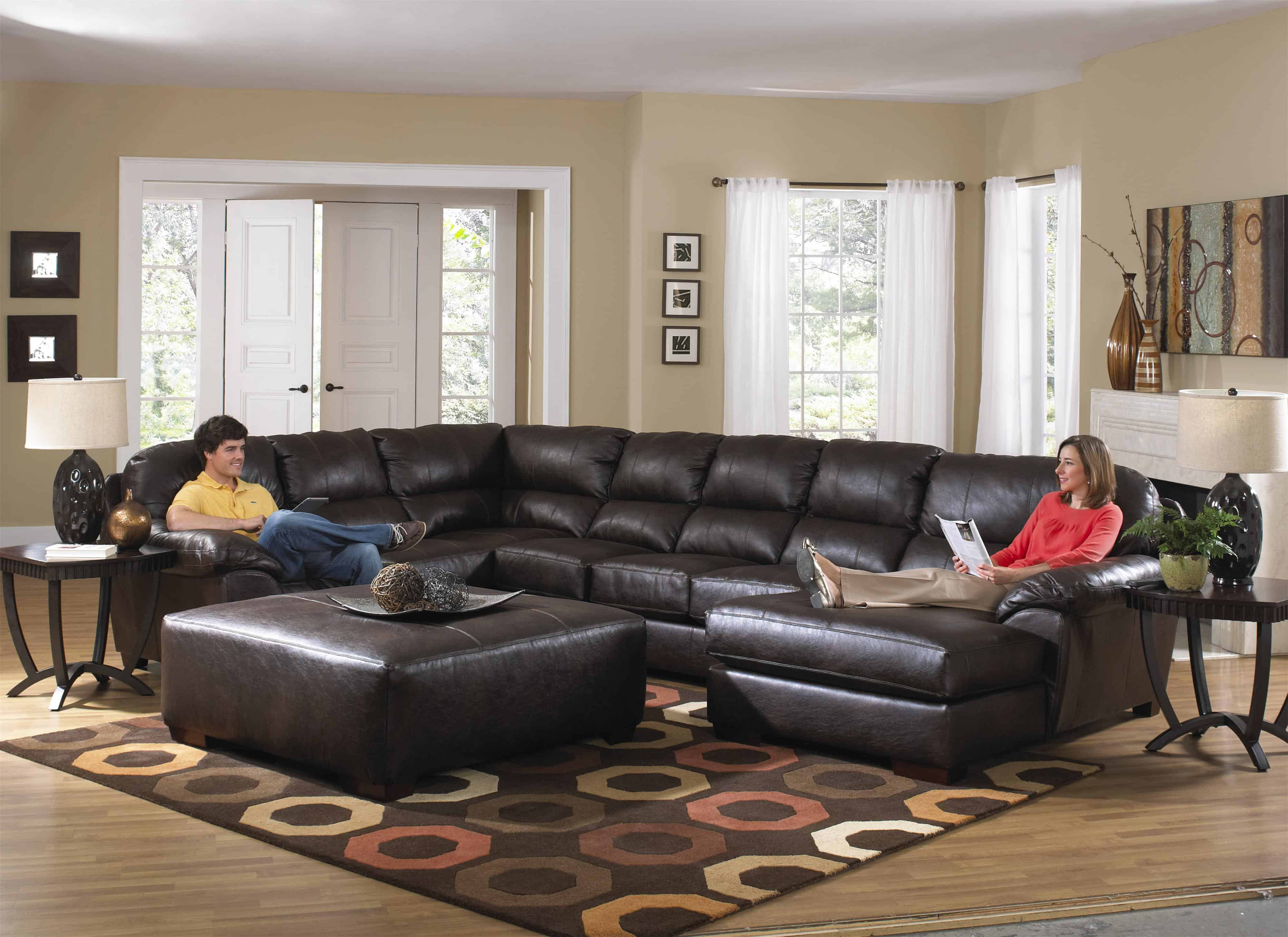 traditional extra large sectional sofa