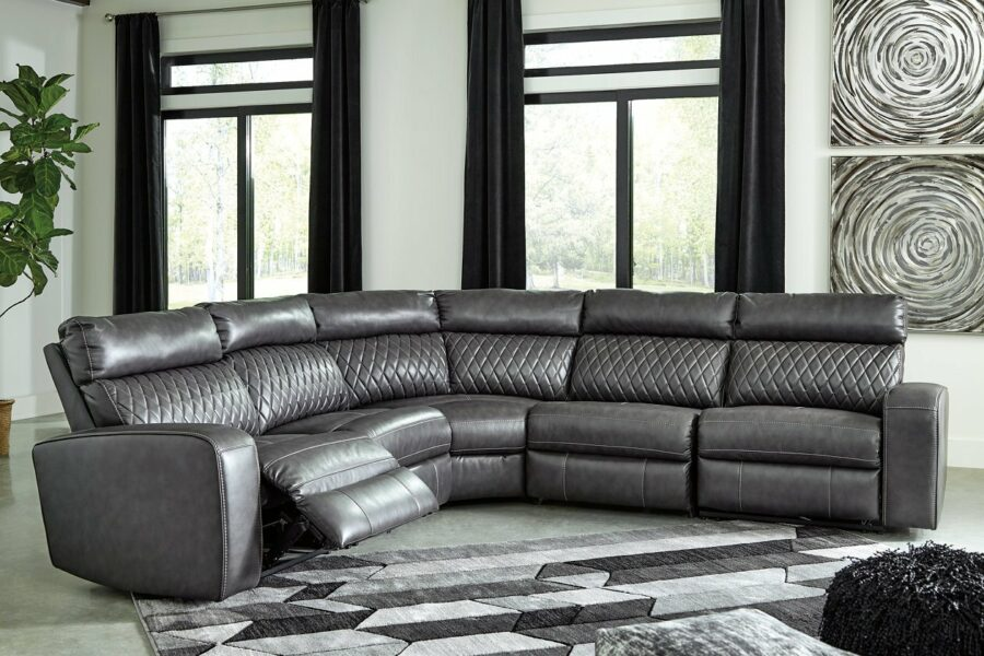 Large Sectional with Recliners