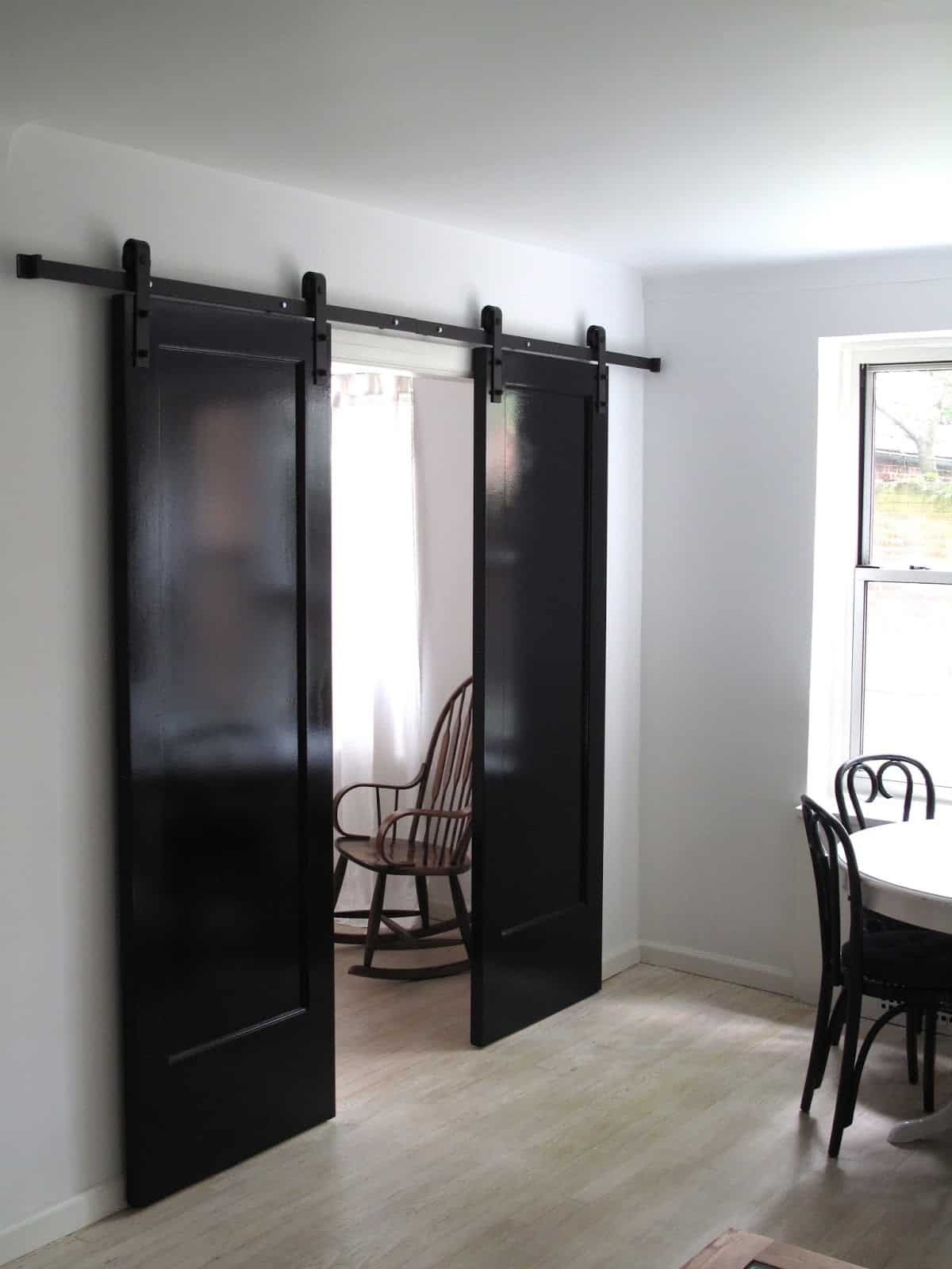 Awesome sliding barn door ideas to include in your home for The barn door company