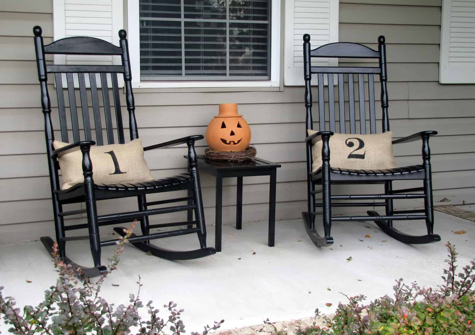 Rocking chairs are great because of their timeless appeal to them.