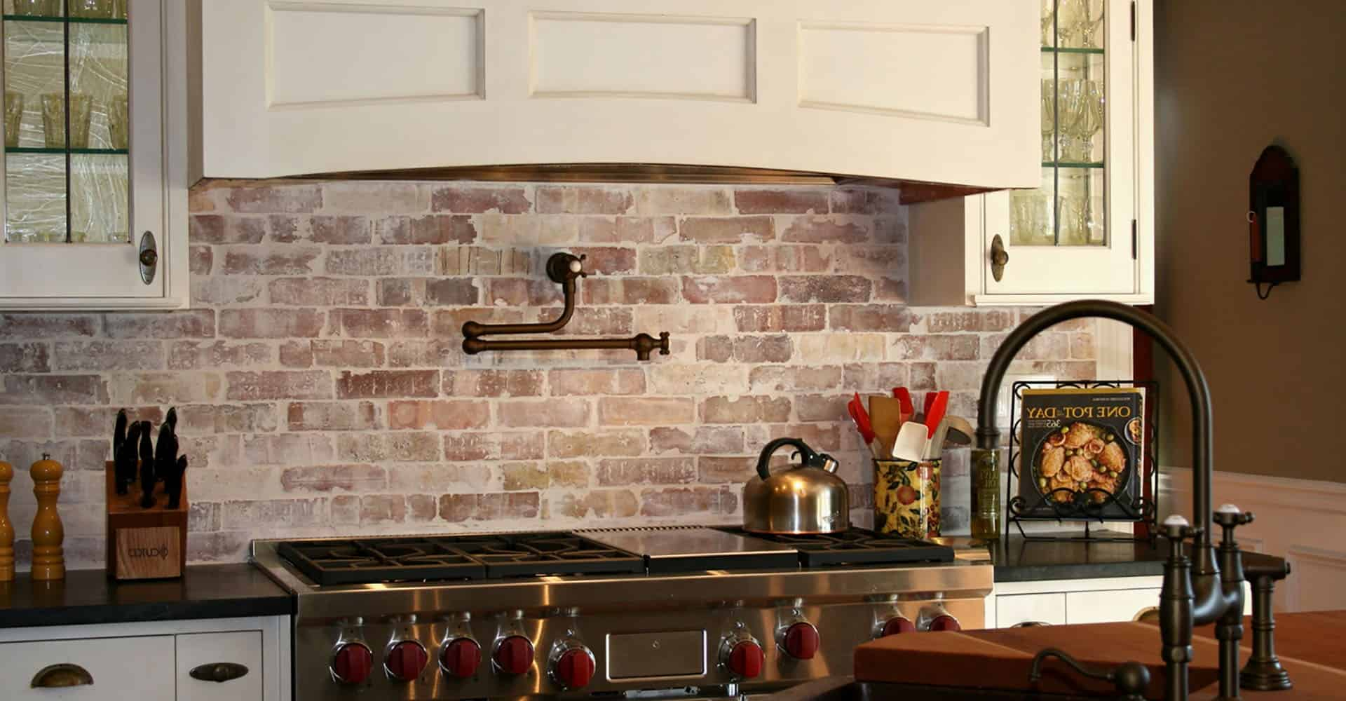 enchanting faux brick backsplash kitchen | 11 Kitchen Backsplash Ideas You Should Consider