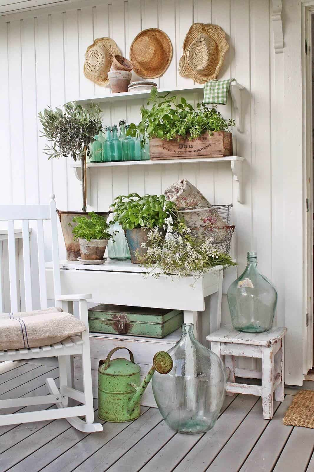 Different shades of green will work differently in any space.