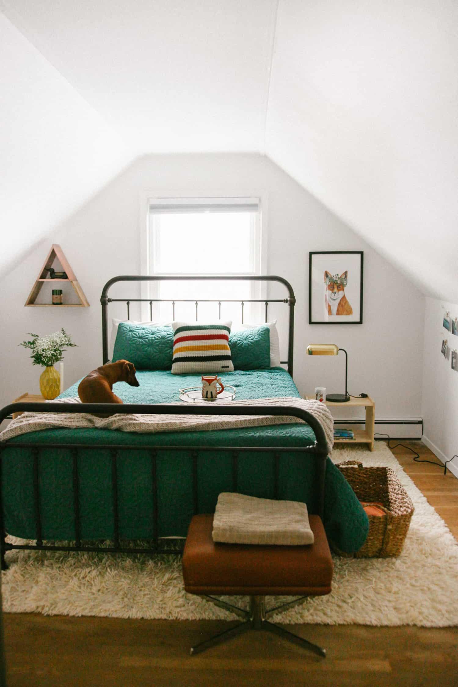 attic guest room idea