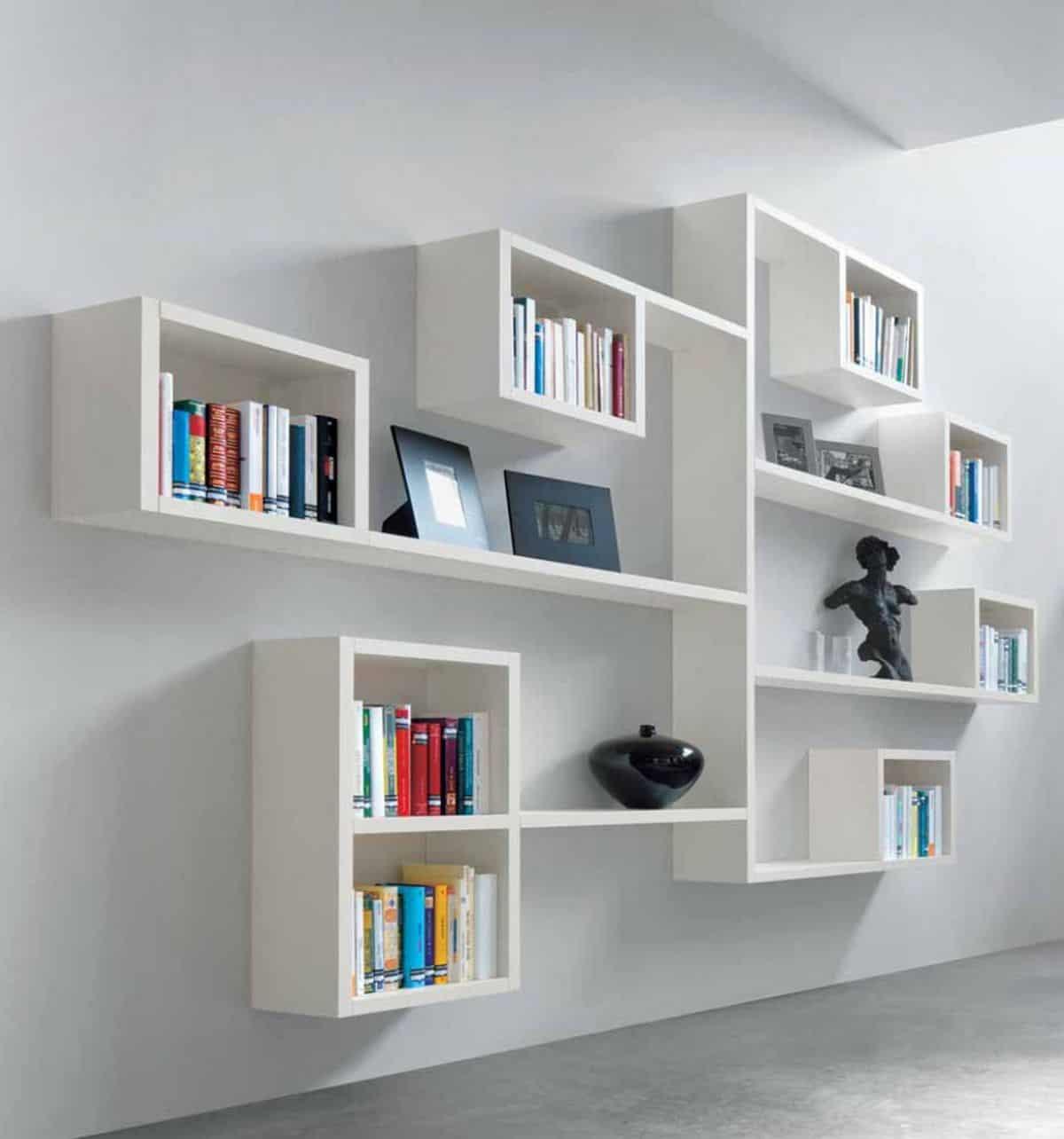 book decor around the house