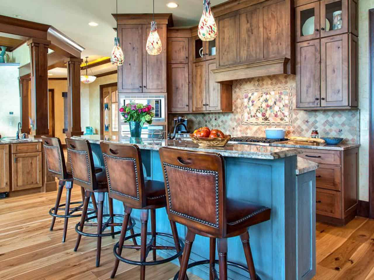 Rustic Kitchen Island Ideas To Consider - How to decorate a kitchen island