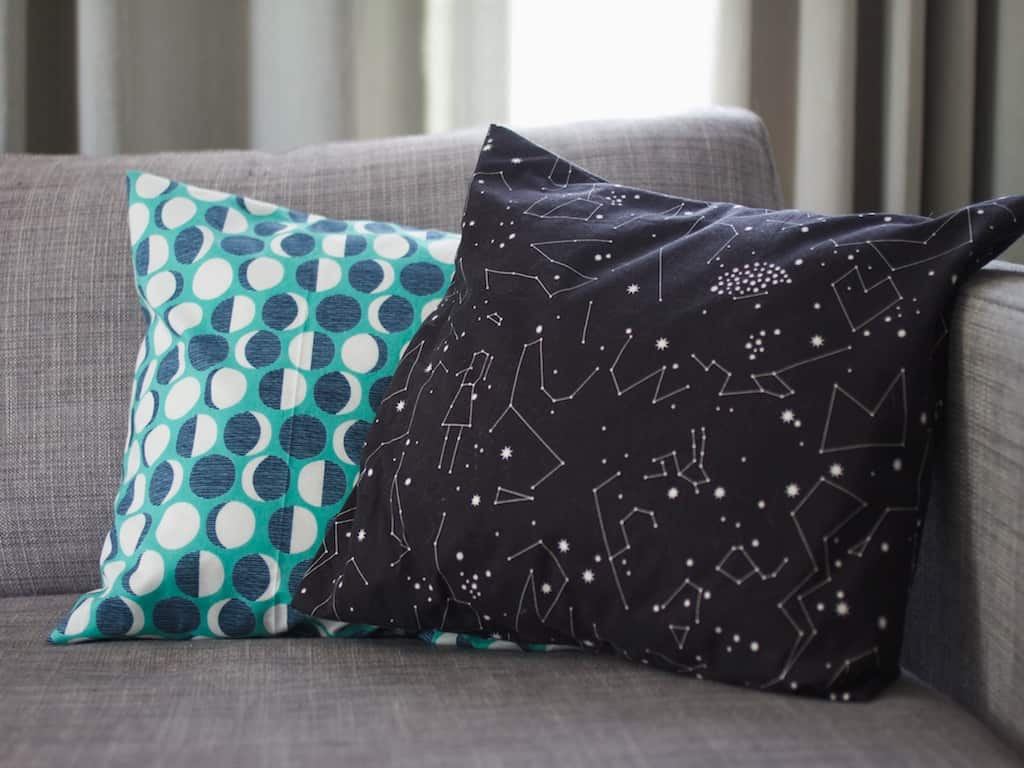 constellation pillows 10 Ways To Bring The Celestial Star Trend Right To Your Home