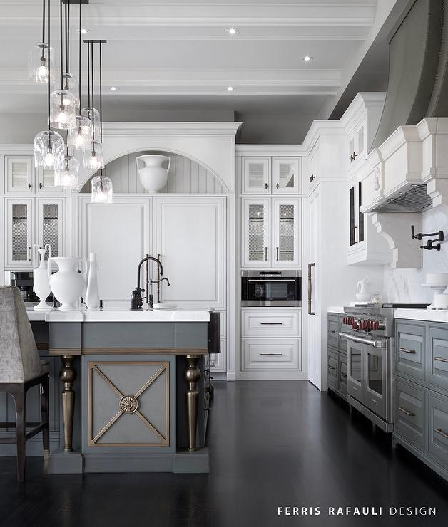 Grey And White Kitchen Part - 30: Recommeneded Videos From Trendir