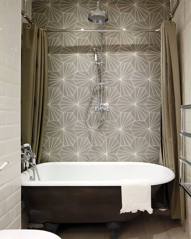 View In Gallery Creative Tiling New Decorating Trends That Are Totally  Worth Trying In 2018