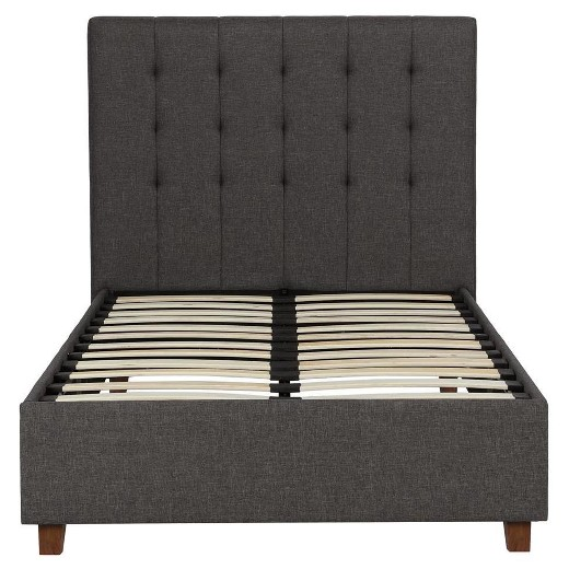 emily upholstered bed 1 15 Small Beds Fit For Whatever Space Youre Working With