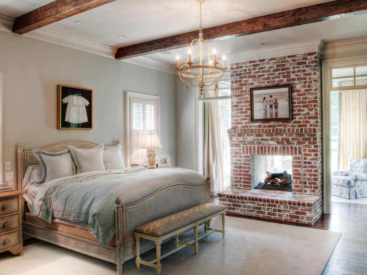exposed brick fireplace 10 Ways To Refresh Your Brick Fireplace
